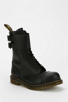 Dr. Martens Caden Buckled Ankle-Wrap Boot