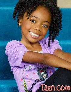 """Skai Jackson (Zuri) from Disney Channel's """"Jessie"""". MY NIECE ZURI. Ain't she cute."""