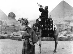 Louie at the Pyramids