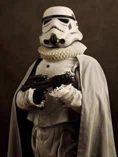 How would your favourite Star Wars Character look if it was the Elizabethan Age (16th-17th Century)?