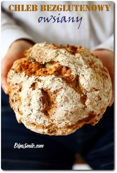 Chleb bezglutenowy owsiany Gluten Free Recipes, Banana Bread, Bakery, Muffin, Sweets, Cooking, Healthy, Breakfast, Desserts