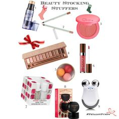 Holiday Beauty Stocking Stuffers on PetalsandPumps.com