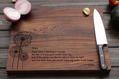 Personalized Cutting Board Wood Cutting Board by FancyWoods, $48.70
