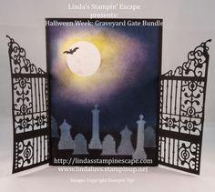 #Halloween Week: Meet me at the Gate! #Graveyard #Gate Bundle from Stampin' Up!