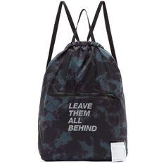 2655483c2998 Satisfy - Black   Green Tie-Dye  Leave Them Behind  Gym Backpack