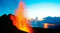 Reunion Island, Piton de la Fournaise- I was there for this. All Nature, Nature Images, Volcan Reunion, Volcano Wallpaper, Outre Mer, Nature Landscape, Active Volcano, Le Havre, Belleza Natural