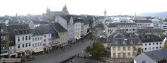 Trier is located in western Germany on the Moselle River and near the border with Luxembourg