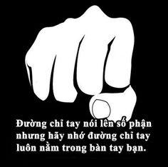 Đường chỉ tay nói lên số phận, nhưng hãy nhớ đường chỉ tay luôn nằm trong bàn tay bạn