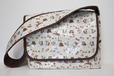 Laminated Messenger Bag Tutorial