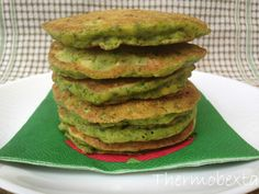 Corn and Spinach Pikelets