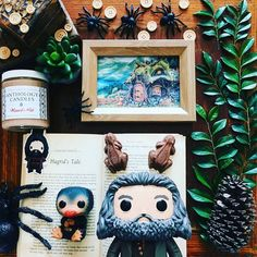 Would you rather learn about Fantastic Beasts from Hagrid or Newt?  Check out our brand new CLEARANCE Section on the website!! Featuring discounted candles we won't do it often and there are VERY LIMITED QUANTITIES but this is a sweet opportunity to snag some of your favorites at a great price while we make room for NEW candles for 2017!!  Fantastic photo featuring our Wizard's Pub (BUTTERBEER!!) candle from @the.bibliofiles Tag us @anthologycandles in your photos for a chance to be…