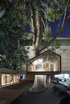 IMJ tree house by Ifat Finkelman and Deborah Warschawski l Israel Museum, Jerusalem