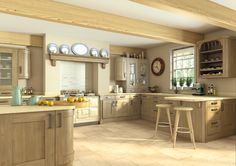 The timeless natural allure of our Wilton Odessa Oak kitchen is hard to resist. Perfect for any traditionally styled home, the warm hues and subtle panel detailing forge a charming, warm homely feel for your living space.