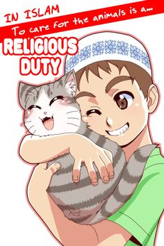 To Care for the animals is a religious duty only in Islam #Islam #Animal