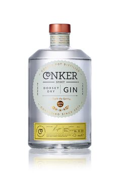 """That's the spirit."" For Dorset's first gin distillery, Conker Spirit,  interabang has created an absolutely fascinating design. Conker takes a  step away from tradition to pursue the new and exciting, all while focusing  on premium quality."