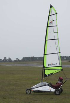 Blokarting. I want to go again! Char A Voile, Diy Car, Small Boats, Canoe, Kayaking, Sailing, Bike, Sports, Style