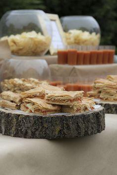 Detalle del bodegón del aperitivo.Organización de eventos. www.mimel.es
