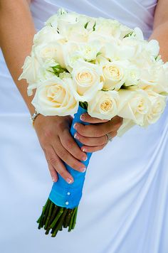 wedding colors turquoise via Flickr.
