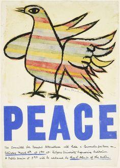 Ben Shahn, Peace, 1969, Harvard Art Museums/Fogg Museum
