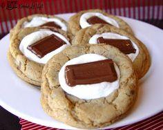 Easy In-Door S'Mores and S'More Cookies