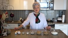 "Oma bakes her ""yummy"" Caramel Squares. A year round treat but especially now for this time of year. Enjoy 13 minutes of authentic wonderful Omaness! Polish Desserts, Polish Recipes, Polish Food, Sweet Little Things, Candied Nuts, Brownie Bar, Cooking Videos, Holiday Cookies, Christmas Baking"