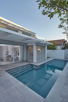Swimming pools Gallery of House in Ramat Gan / Ella Sahar - 23 Your Own Home Interior Ideas 2008 Key