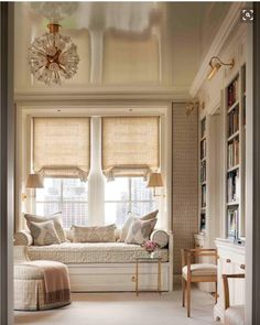 Library Window Seat – John B. Murray Architect 55 Dizzy Decor Ideas Everyone Should Try – Library Window Seat – John B. Enchanted Home, Living Spaces, Living Area, Living Room Designs, New Homes, House Styles, Home Decor, Window Seats, Room Window