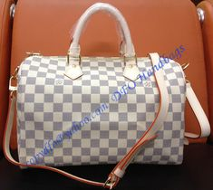 Louis Vuitton Damier Azur Speedy Bandouliere 30 sale at - Free Worldwide shipping. Get today Louis Vuitton Damier Azur Speedy Bandouliere 30 Lv Handbags, Luxury Handbags, Louis Vuitton Handbags, Louis Vuitton Speedy Bag, Designer Handbags, Louis Vuitton Damier, Vuitton Bag, Cowhide Leather