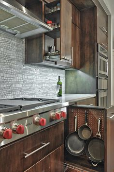 contemporary kitchen by Realty Restoration, LLC