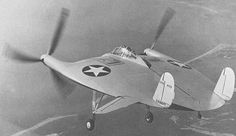 Vought V-173 US Navy first flight 23 Nov. 1943