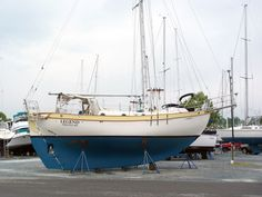 """The host boat - """"Legend"""" Westsail 32"""