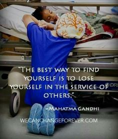 My reminder of why I became a nurse on those tough days