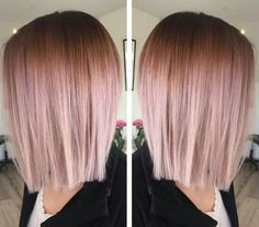 Rose Gold Ombre HOW-TO, Pricing & Formulas! #rosegoldhair #ombre…