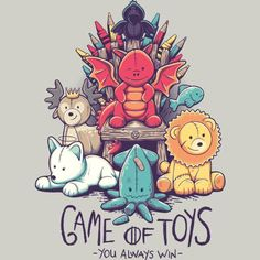 When you play the game of toys, it's either you play all day or you don't play at all.. hahahha