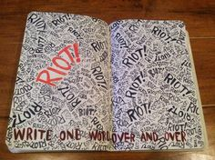 Wreck This Journal by ~damnafrica on deviantART
