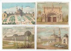 Chromos Exposition Universelle DE 1878