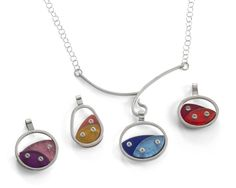 Debra Adelson, ACC Charm Necklace, American Craft Council Charm Collection #accshow #acccharm #jewelry