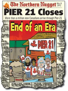 Canadian History for Kids: Pier 21