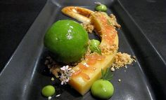"Grapefruit Curd  ink.  8360 Melrose Ave. Ste. 107. West Hollywood; 323-651-5866  An orb of cilantro sorbet is the centerpiece of ink.'s modernist take on key lime pie, with a snake of grapefruit curd set off by charred maple-lime meringue, blots of avocado, and individually plucked grapefruit petals. Last Cake Standing winner Richard Ruskell calls it ""very seasonal, crisp, and refreshing, with the necessary components of creamy and tart that you need in a citrus dish."""