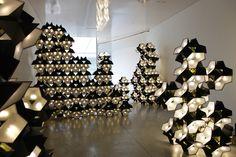 Olafur Eliasson (1967-) Starbrick (module lumineux LED) – Installation, 21st Century Museum of Contemporary Art, Kanazawa