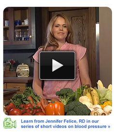Wegmans presents registered dietitian Jennifer Felice in a video series on blood pressure
