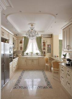 Trendy ideas for home decored romantic interior design living rooms Romantic Kitchen, Cocina Shabby Chic, Interior Design Kitchen, Room Interior, Home Kitchens, Sweet Home, House Design, Home Decor, Photo Style