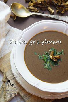 Kulinarne przygody Gatity: Wigilijna zupa grzybowa