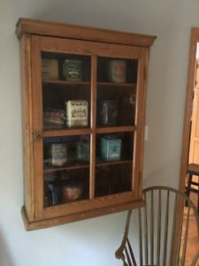 Antique Display Cabinet Armoire Vitree Antique Kijiji China Cabinet Cabinet