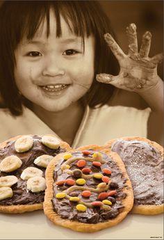 The chocolates - Choco Banane, Triple Trip, Chocolate Hazelnut