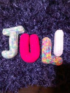 Personalizando al crochet <3