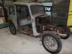 Start of my Austin 7 ruby restoration