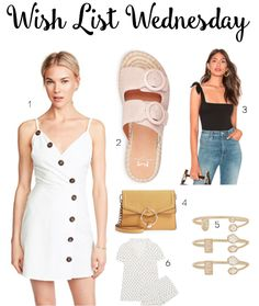 6bad964fc025e Wish List Wednesday | North of Peachtree Blogger Templates, Slide Sandals,  Leather Crossbody,