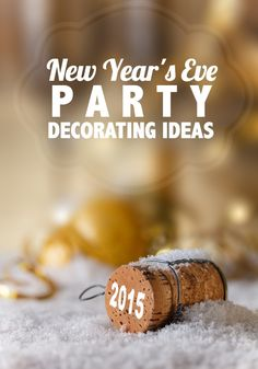 New Year's Eve Party Decorating Ideas