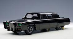 The 1966 Imperial Crown Sedan Green Hornet Black Beauty Model in 1:18 Scale by AUTOart